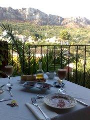Desayuno Rural en Casa Gallinera